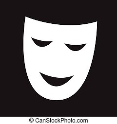 theatrical masks icon