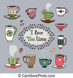 thee, liefde, tijd