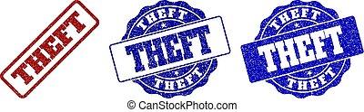 THEFT Grunge Stamp Seals