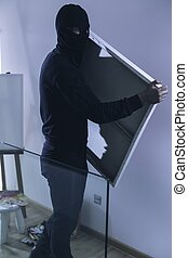 Theft of painting