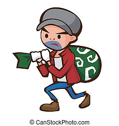 theft - Thief's illustration