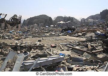 thegreat, japón, este, terremoto