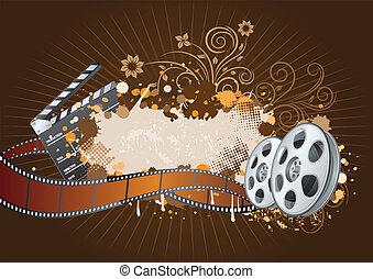 thema, film, achtergrond