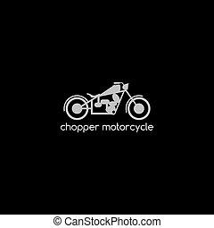 thema, motorfiets, logotype