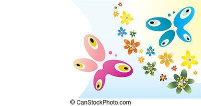thema, vlinder