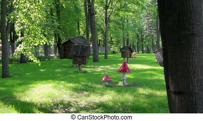 Hut on Chicken Legs - Thematic decoration - Hut on Chicken...