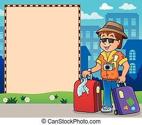 thematics, cornice, 2, viaggiare