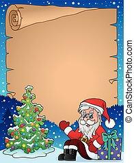 thematics, pergaminho, natal