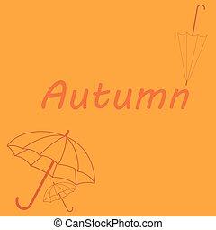 Theme of autumn