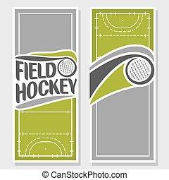 Theme of field hockey