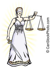 Themis - a goddess of justice - Themis (Femida) - a goddess...