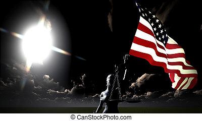 themis, estados unidos de américa, justicia, símbolo,...