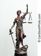 themis, femida, ή , δικαιοσύνη , θεά , γλυπτική , αναμμένος...