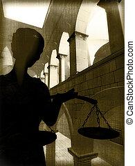 Themis in court