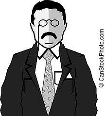 Theodore Roosevelt cartoon