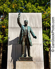 Theodore Roosevelt Statue Memorial Roosevelt Island Washington DC