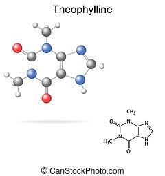 Theophylline molecule