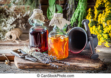 Therapeutic tincture as an alternative cure