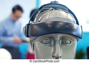 therapeutisch, apparaat, van, de, menselijke hersenen