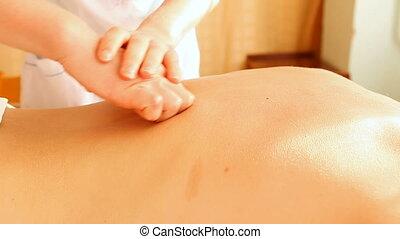 therapie, masseren