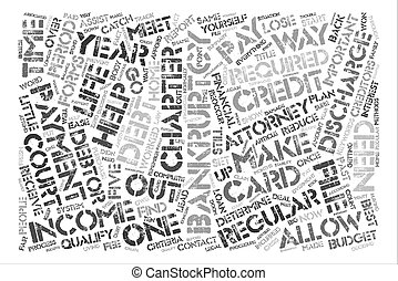 There Is Life After Bankruptcy text background word cloud concept