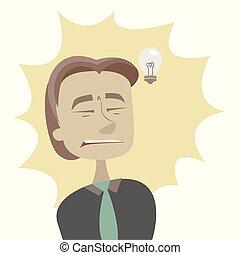 there is no brilliant idea
