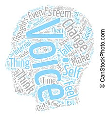 There s A New Sheriff Between Your Ears text background wordcloud concept