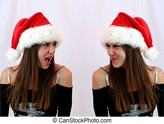 There\'s NO Santa?! - Brat twin shares a secret with angel...