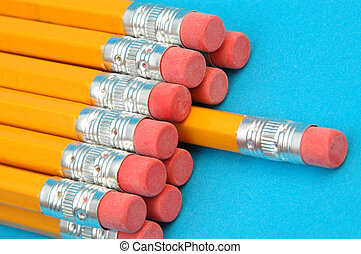 dozen new pencils - there's one in every crowd, a dozen new...
