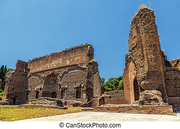 thermae, caracalla., 古代, ruins.