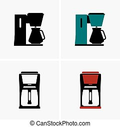 Thermal carafe coffee makers, shade pictures