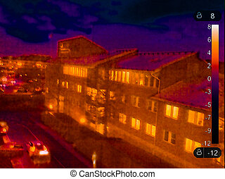 Thermal image of Motala