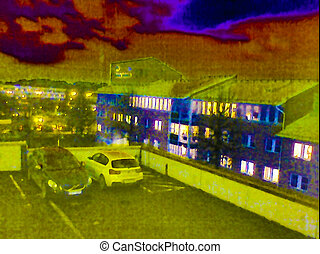 Thermal image of Motala t