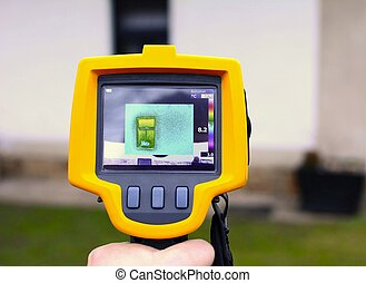 Thermal Imaging Detection - Recording Heat Loss of a House...