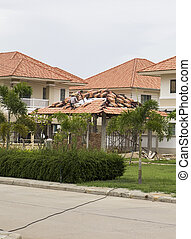 thermal insulation on home roof