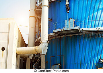 Thermal power plant pipeline
