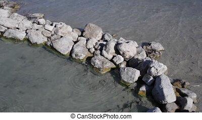Thermal waters in the Lago di Vener