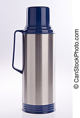 Thermo flask on background - Thermo flask on the white...