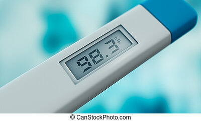 thermomètre, corps