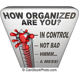 thermomètre, organisé, comment, propre, mesure, vous, ordre