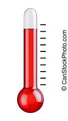 Thermometer hot temperature