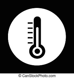 Thermometer icon Illustration design