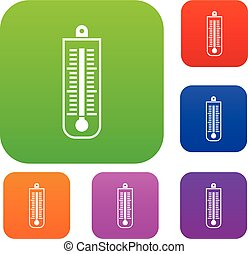 Thermometer set collection