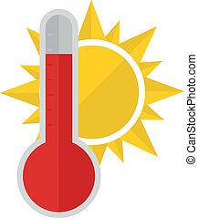 Thermometer Sun