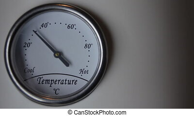 thermometer time lapse
