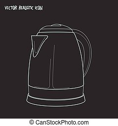 Thermos icon line element. Vector illustration of thermos icon line isolated on clean background for your web mobile app logo design.