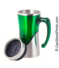 Thermos mug for traveling