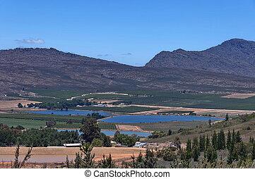theronsberg, passagem, áfrica sul