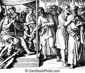 The Dividing up of Canaan