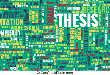 Dissertation background